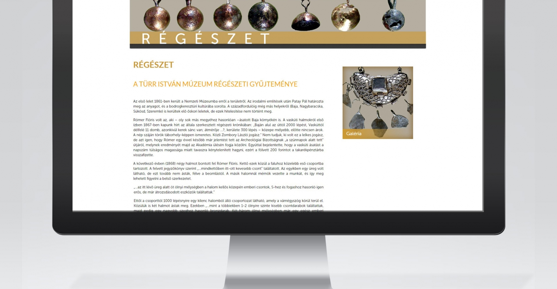 Megújult a bajai Türr István múzeum honlapja