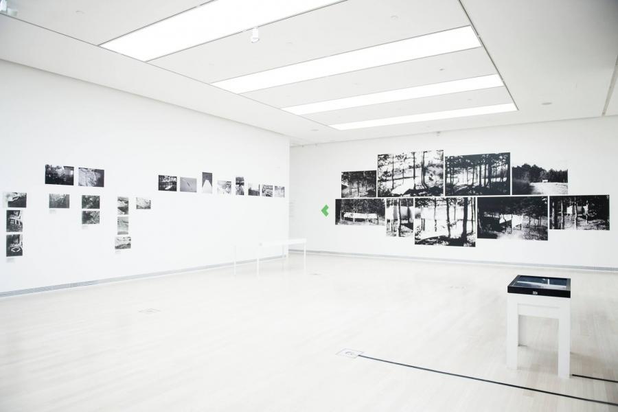 Térképes élményterminál a Ludwig Múzeum kiállításán