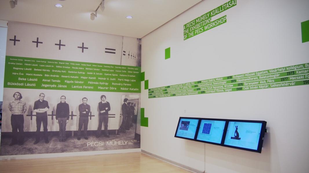 Élményterminálok a Ludwig Múzeum kiállításán