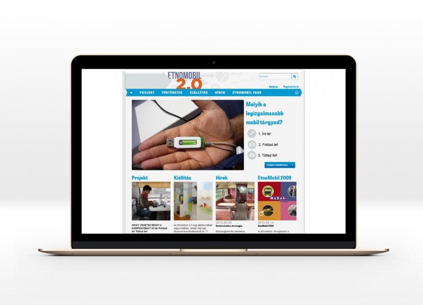 Etnomobil Web 2-es múzeumi honlap