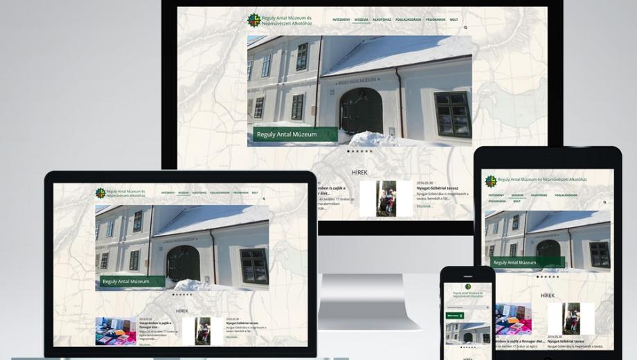 Reguly Antal Múzeum és Népművészeti Alkotóház honlap