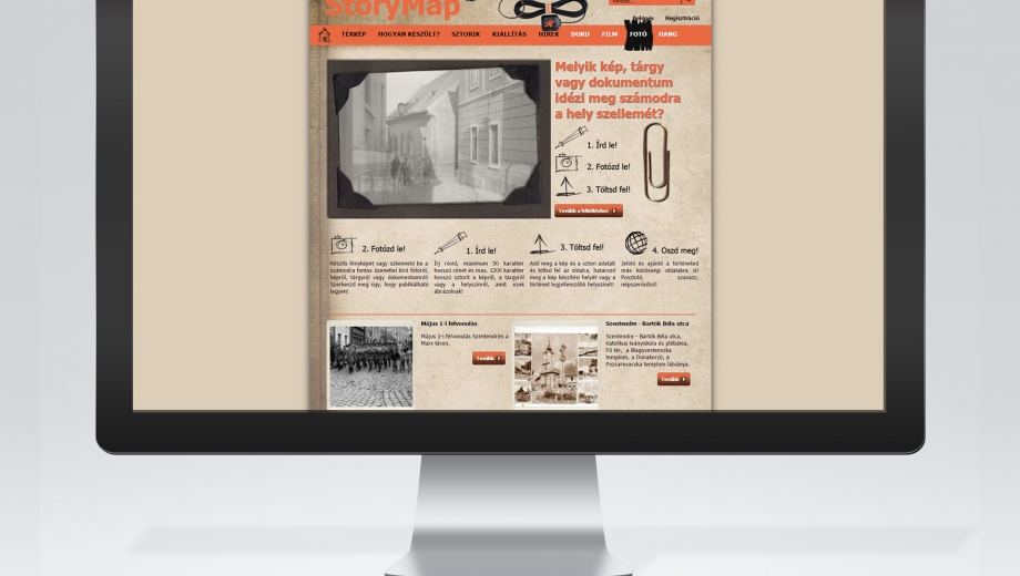 Storymap Web 2-es múzeumi honlap