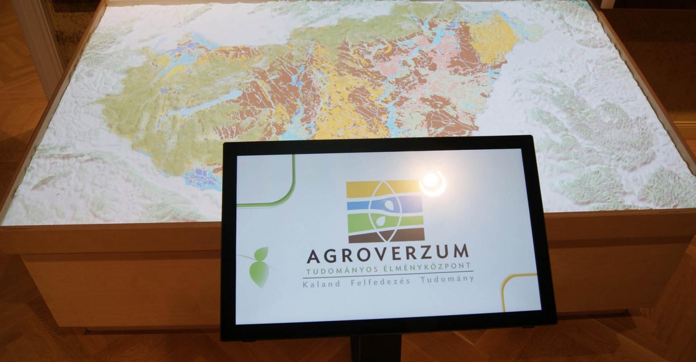 Agroverzum Tudományos Élményközpont - Digitális terepasztal