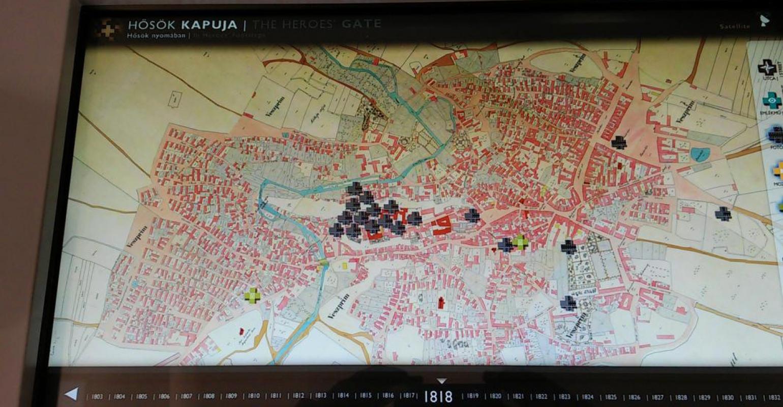 Veszprém Hősök Kapuja múzeumi kiállítás