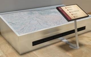 Pápa -  DiVit Digitális Terepasztal látványterv