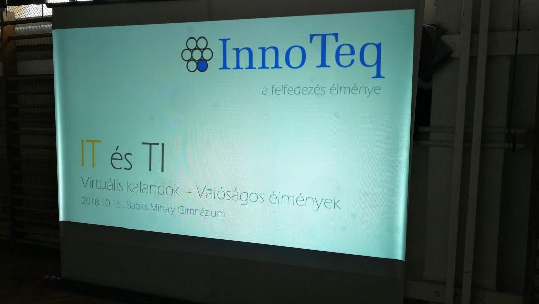 IT és TI + InnoTeq a Babits Gimnáziumban