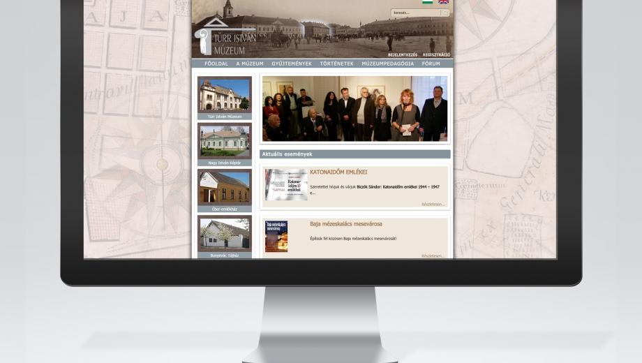 BajaiTürr István Múzeum gyűjteményi honlap