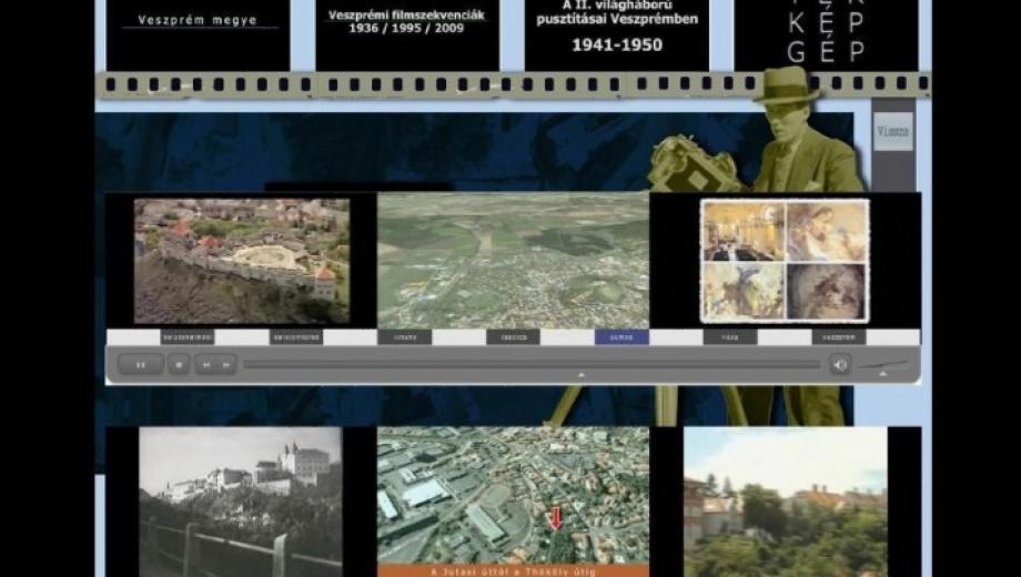 Térkép-Gép múzeumi multimédia